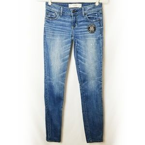Abercrombie & Fitch | Paint Splashed Jeans 00